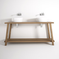 Monk STANDING DOUBLE BASIN | Armarios lavabo | Karpenter