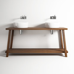 Monk STANDING DOUBLE BASIN | Meubles sous-lavabo | Karpenter