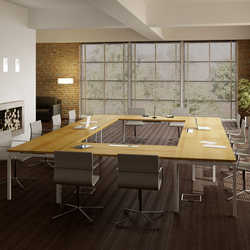 Idea+ 01 | Multimedia conference tables | Quadrifoglio Office Furniture