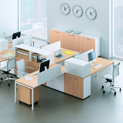 Idea+ 01 | Sistemi tavolo | Quadrifoglio Office Furniture