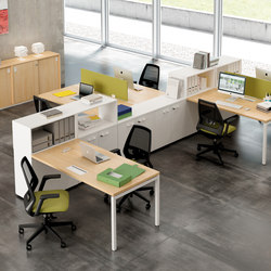 Idea+ 01 | Desking systems | Quadrifoglio Office Furniture
