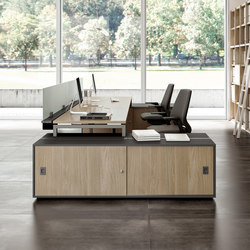 Idea+ 01 | Sistemi tavolo | Quadrifoglio Office Furniture