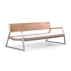 Salma Lumiere Low Bench | Bancos | Wintons Teak