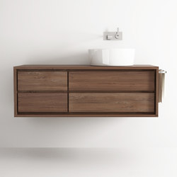 Parker HANGING BASIN 4 DRAWERS | Vanity units | Karpenter
