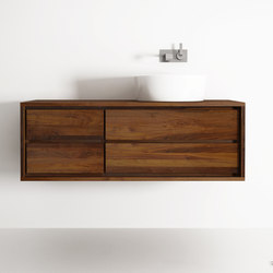 Parker HANGING BASIN 4 DRAWERS | Mobili lavabo | Karpenter