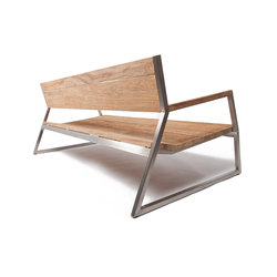 Salma Lumiere Low Bench | Gartenbänke | Wintons Teak