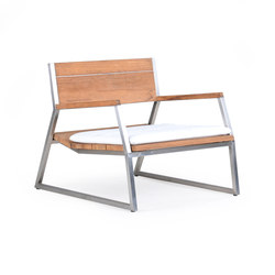 Salma Lumiere Low Armchair | Sillones | Wintons Teak