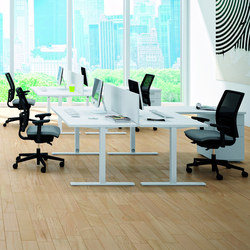 Idea+ Tube | Desking systems | Quadrifoglio Office Furniture