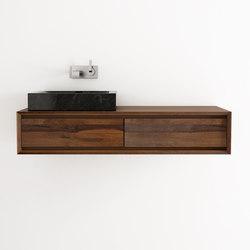 waschpl tze unterschr nke waschtische taylor hanging basin 2 drawers karpenter. Black Bedroom Furniture Sets. Home Design Ideas