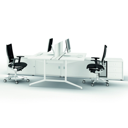 X2 | Tischsysteme | Quadrifoglio Office Furniture