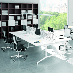 X2 | Sistemas de mesas | Quadrifoglio Office Furniture