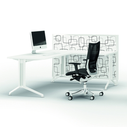 X2 | Einzeltische | Quadrifoglio Office Furniture