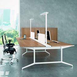 X2 | Mesas de lectura / estudio | Quadrifoglio Office Furniture