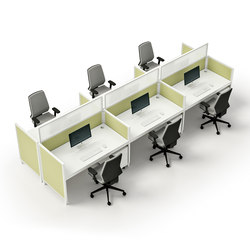 X4 | Desking systems | The Quadrifoglio Group