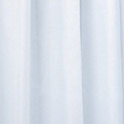 Hotellerie Curtain in waterproofed polyester (PE), plain colour with 15 hooks | Shower Curtains | Inda