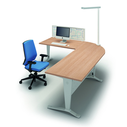 Idea+ Ypsilon   Scrivanie direzionali   Quadrifoglio Office Furniture