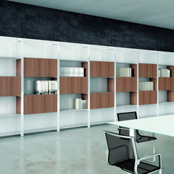 Boiserie | Bilbliotheksregale | Quadrifoglio Office Furniture