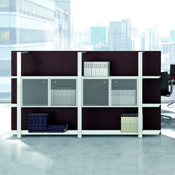Boiserie | Office shelving systems | Quadrifoglio Office Furniture