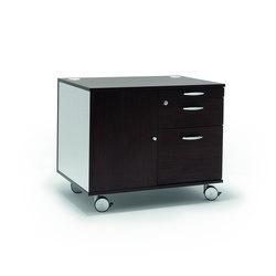 Meuble à tiroirs | Caissons mobiles pour bureaux | Quadrifoglio Office Furniture