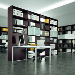 Libreria | Library shelving systems | Quadrifoglio Office Furniture