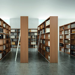 Libreria | Estanterías para bibliotecas | Quadrifoglio Office Furniture