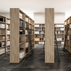 Libreria | Library shelving systems | The Quadrifoglio Group