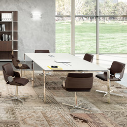 X7 | Meeting room tables | Quadrifoglio Office Furniture
