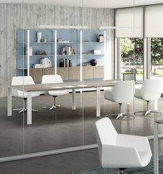 X7 | Tavoli multimediali per conferenze | Quadrifoglio Office Furniture