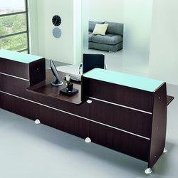 Reception Glass | Tavoli da ingresso | Quadrifoglio Office Furniture