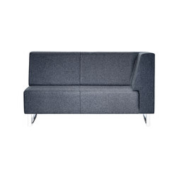 U-sit 72 with corner back right | Modular seating elements | Johanson