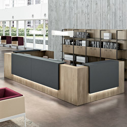 Z2 | Reception desks | The Quadrifoglio Group