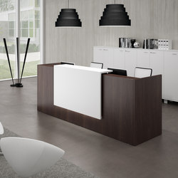 Z2 | Mostradores de recepción | Quadrifoglio Office Furniture