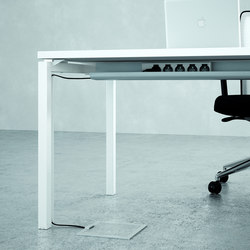 Cable management | Cable management | Quadrifoglio Office Furniture