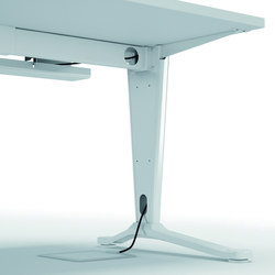 Système de câblage | Cable management | Quadrifoglio Office Furniture