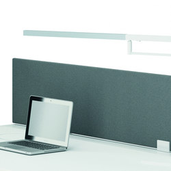 Frameless screens | Table dividers | Quadrifoglio Office Furniture