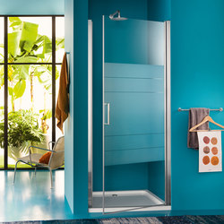 Claire Design Pivot door for niche | Shower screens | Inda
