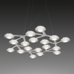 LED Net circle Suspension Lamp | Suspended lights | Artemide
