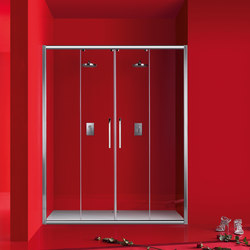 Praia Sliding door with two doors | Shower screens | Inda