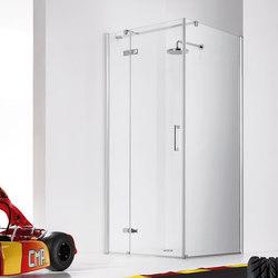 Praia Design Pivot door with fixed element | Shower screens | Inda