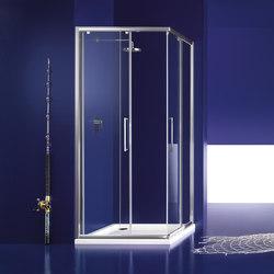 Praia Panel with sliding door | Shower screens | Inda