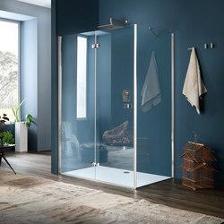 Sim Panel with folding door | Shower screens | Inda