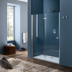 Sim Folding door for niche | Shower screens | Inda