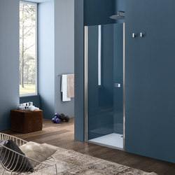 Sim Pivot door for niche | Shower screens | Inda