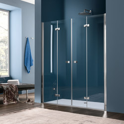 Sim Pivot door for niche | Shower screens | Inda