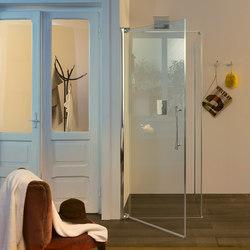 Teknoair Pivot door | Shower screens | Inda