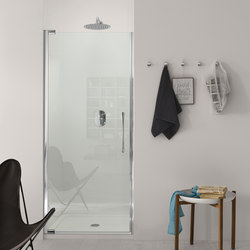 Teknoair Pivot door for niche | Shower screens | Inda