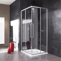 Trendy Design Panel with sliding door | Shower screens | Inda