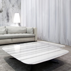 Nord White & Black | Lounge tables | Erba Italia