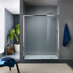 Trendy Design Sliding door for niche | Shower screens | Inda