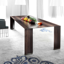 Pensami rectangle dining table | Mesas comedor | Erba Italia